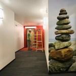 Photos of natural areas of Minnesota adorn the hallways. (Staff photo: Bill Klotz)