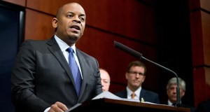 Transportation Secretary Anthony Foxx speaks during a news conference Monday at the Transportation Department in Washington where he announced the creation of a task force to develop recommendations for a registration process for Unmanned Aircraft Systems. AP Photo: Andrew Harnik