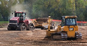 Grading activities are underway for the new Minnesota Autism Center at 2020 Silver Bell Road in Eagan, just west of the Autism Center's existing Eagan facility. (Staff photo: Bill Klotz)