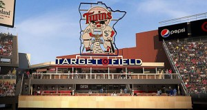 The Minnesota Twins plan to start construction soon on this new center field fan area at Target Field. The team-funded $5 million renovation will be completed in time for the 2016 season.  (Submitted rendering: Populous)