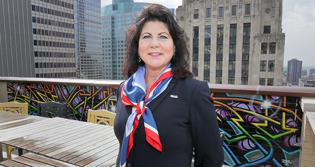 Doreen D'Aigle  (Staff photo: Bill Klotz)
