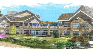 Bloomington-based United Properties has used this design for the new Cherrywood Pointe senior living project at 2004 Plymouth Road in Plymouth and its other Cherrywood projects. Submitted image