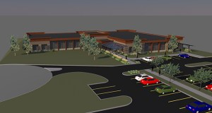 Michigan-based Auto-Owners Insurance Co. has bought a site in the Eagle Pointe Business Park in Lake Elmo, where it plans to build a new Minnesota headquarters to replace its offices in White Bear Lake. (Submitted image: Mayotte Architects)