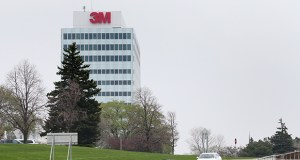 3M, based in Maplewood, anticipates 2015 earnings of about $7.55 per share. File photo