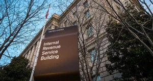 This April 13, 2014, photo shows The Internal Revenue Service headquarters building Washington. In a survey released in 2015 by the advocacy group National Small Business Association, nearly 60 percent of the owners surveyed said the administrative burdens were the biggest problems posed by federal taxes. AP file photo