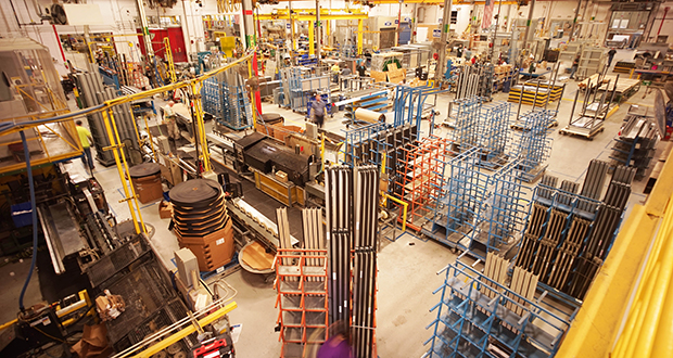 Daikin Applied Americas Inc. makes commercial heating, ventilation and air conditioning systems. This photo shows the company's recently expanded facility in Owatonna. Submitted photo