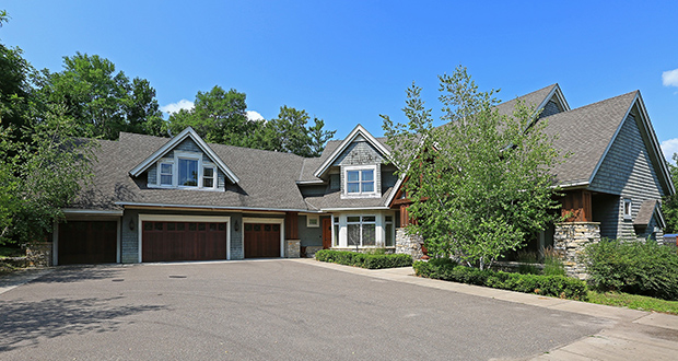 We don't usually think of luxury homes when we think of foreclosures, but this lender-owned home in Orono sold recently for nearly $1.3 million. (Submitted photo: Scott Rodman)
