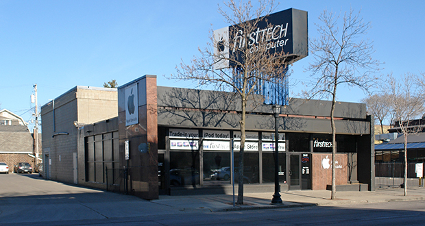 Somsap and Steve Hein have acquired the former FirstTech Computer buildings at 2640-2642 Hennepin Ave. S in Minneapolis. The property is immediately north of their restaurant Roat Osha. They are working with Semper Development to build a Walgreens on the site of their restaurant and part of the FirstTech property. (Submitted photo: CoStar)