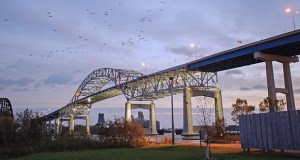 St. Michael-based PCi Roads is the apparent low bidder for a project that includes repairs to the Blatnik Bridge, which carries Interstate 535 over the Saint Louis Bay between Duluth and Superior, Wisconsin. (Submitted photo)
