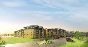 Roseville-based Presbyterian Homes proposed 195-unit senior housing development calls for 115 independent living units, 58 assisted-living units, 20 memory care apartments and two guest suites on a 13-acre site. (Submitted image)