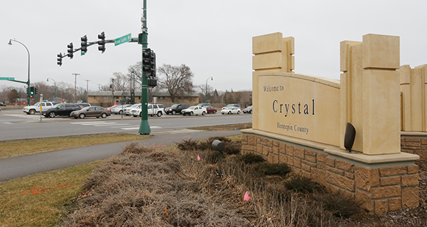 Planners for the Blue Line Extension light rail route between Minneapolis and Brooklyn Park are pitching $71 million in project additions, including a pedestrian bridge in Crystal over Country Road 81. (File photo: Bill Klotz)