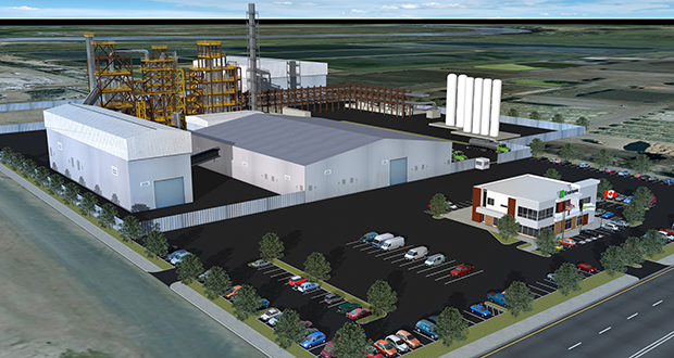 Enerkem's proposed Rosemount refinery would turn types of solid waste that are tough to recycle or compost, including waste lumber, into a type of ethanol that can be used to fuel vehicles. (Submitted image: Enerkem)