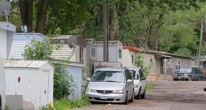 The U.S Department of Housing and Urban Development is investigating the sale and impending closure of the Lowry Grove mobile home park at 2501 Lowry Ave. NE in St. Anthony. (File photo: Bill Klotz)