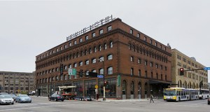 The Hewing Hotel, at 300 Washington Ave. in Minneapolis, occupies an 1897 five-story building in the city's North Loop neighborhood. (Staff photo: Bill Klotz)