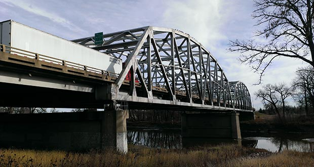 The Minnesota Department of Transportation hopes to begin construction early next year on a $15.66 million rehab of the Highway 2 Kennedy Bridge over the Red River between East Grand Forks, Minnesota, and Grand Forks, North Dakota. (Submitted photo: MnDOT)