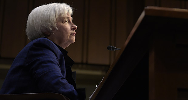 Federal Reserve Chair Janet Yellen testifies Nov. 17 on Capitol Hill in Washington, before the Joint Economic Committee. A year after the Federal Reserve raised a key interest rate for the first time in nearly a decade, the Fed raised that rate again Wednesday. (AP file photo)
