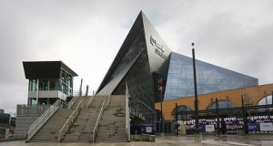 Minnesota Sports Facilities Authority board members approved on Friday a first-year capital budget of $3.673 million for 2017 upkeep projects at U.S. Bank Stadium, including $1 million for additional storage in the 1.75 million-square-foot building. (File photo: Bill Klotz)