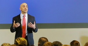 Neel Kashkari, president of the Federal Reserve Bank of Minneapolis, is making economic inequality based on race and other factors the focus of the bank's newly created Opportunity and Inclusive Growth Institute. (File photo: Bill Klotz)