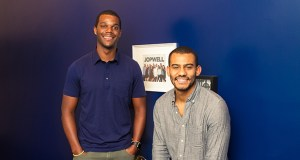 Porter Braswell, left, and Ryan Williams started Jopwell to connect job seekers and employers hoping to improve their diversity recruitment. (JordanBeckham.com)