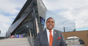 Alex Tittle Sr. is working to help local minority-, women-, veteran- and LGBT-owned companies bid for business opportunities related to Super Bowl LII. (Staff photo: Bill Klotz)
