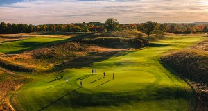 The Erin Hills golf course in Eris, Wisconsin,  will host the U.S. Open golf tournament in June. (Photo: Paul Hundley)
