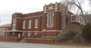 Duluth Gospel Tabernacle members have outgrown this 100-year-old building on a site carved into the rocky hillside at 1515 Superior St. in Duluth. (Submitted photo: Duluth Gospel Tabernacle)