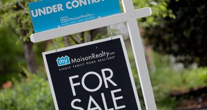 Limited supplies of U.S. homes on the market reduced pending home sales in April, the National Association of Realtors reported Wednesday. (AP Photo: Chuck Burton)