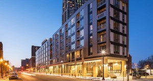 Mill City Quarter is a new apartment building that blends into Minneapolis' historic Mill District. (Submitted photos)