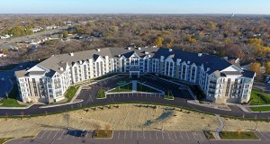 The River North development brought new, affordable senior apartments to Coon Rapids. (Submitted photos)