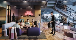 New York-based WeWork opened a 53,000-square-foot co-working space on the 38th, 39th and 40th floors of the Capella Tower in downtown Minneapolis. (Submitted image)