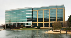 Minneapolis-based U.S. Bank announced last week that it would move more than 1,000 employees from its home mortgage operation into a new building at 9380 Excelsior Blvd. in Hopkins, one of a trio at the Excelsior Crossings complex. The complex will be within a half mile of two light rail stations once the Southwest Light Rail line is operational. (Staff photo: Bill Klotz)