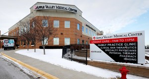The two-story, 58,870-square-foot Apple Valley Medical Center is at 14655 Galaxie Ave. in Apple Valley. (Staff photo: Bill Klotz)