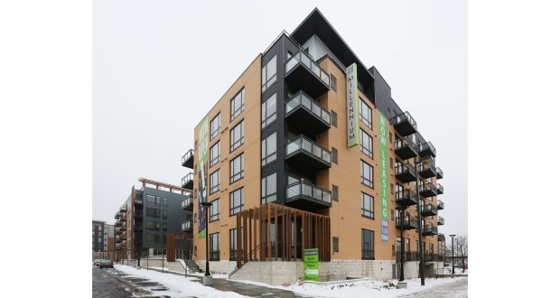 New York City-based Abacus Capital Group has paid nearly $40.9 million for Millennium at West End, a 3-year-old, 158-unit upscale apartment complex at 5245 Wayzata Blvd. in St. Louis Park. It was the first Twin Cities development for the seller, Aventura, Florida-based DLC Residential. (File photo: Bill Klotz)