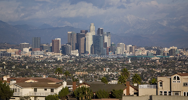Los Angeles skyline. (Bloomberg file photo)