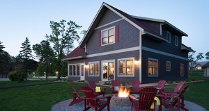 Reunion houses, like this one at Madden's on Gull Lake, are designed to give families or groups of friends a place large enough for them to stay, cook, and relax together. (Submitted photo: Madden's on Gull Lake)