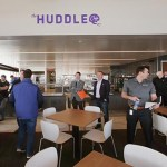 The cafeteria, which is called The Huddle. (Staff photo: Bill Klotz)