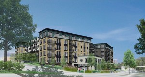 Trammell Crow's 55-plus apartments rising at 5220 Eden Ave. and 5150 Brookside Ave. in Edina will offer a beauty salon among other services targeted to the active adult. (Submitted image: ESG Architects)