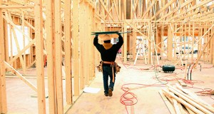 Construction At A Lennar Corp. Housing Development Ahead Of Earnings Figures