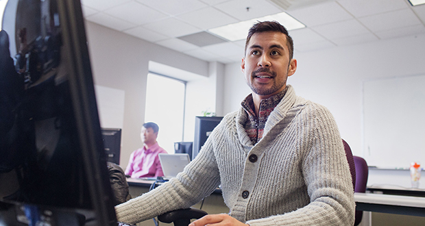 """Hennepin County's employment training initiative, """"Career Pathways,"""" has helped the county replace retiring workers. (Staff photo: Bill Klotz)"""