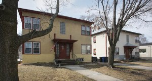 A proposed overhaul of Minneapolis' comprehensive plan would allow for more small multifamily housing, such as these fourplexes in the Windom neighborhood, in areas currently restricted to single-family homes. (Staff photo: Bill Klotz)
