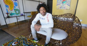 After he was laid off from Target in 2015, Chris Webley launched New Rules, a collective dedicated to lifting up north Minneapolis' creative and entrepreneurial communities. (Staff photo: Bill Klotz)
