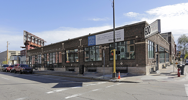 PULSE, a nondenominational Christian organization focusing on young people, will be moving its headquarters this summer from leased space in northeast Minneapolis to this 16,000-square-foot building it has acquired at 600 S. Ninth St. in Minneapolis. (Submitted photo: CoStar)