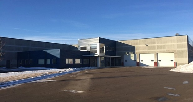 Eden Prairie-based Interstate Development has sold a fully leased warehouse at 1505 11th Ave. NE in Cambridge for $3.3 million to Minneapolis-based Big River Real Estate.  (Submitted photo: CoStar)