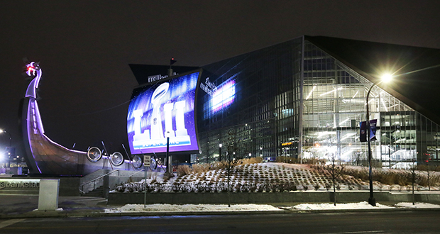 February's Super Bowl at U.S. Bank Stadium in Minneapolis and related events sent a message about Minnesota's ability to host major events, even in mid-winter, according to Minnesota Super Bowl Host Committee CEO Maureen Bausch.  (File photo: Bill Klotz)