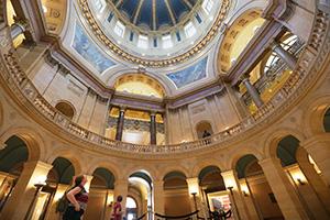 The Minnesota State Capitol, 75 Rev. Dr. Martin Luther King Jr. Blvd., St. Paul (File photo: Bill Klotz)