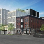 Snow Kreilich Architects's plans for The Foundry, a block of apartments and multistory office space in Minneapolis' North Loop. (Submitted image: Snow Kreilich Architects)