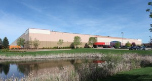 The Wilfred Distribution Center at 13201 Wilfred Lane N. in Rogers sold for nearly twice what it did a year ago thanks to upgrades and a new tenant that is leasing the entire building. (Submitted photo: CoStar)