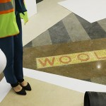 "Visitors will see the salvaged ""Woolworth"" logo inscribed on the lobby floor."