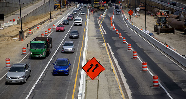 President Donald Trump made fixing U.S. roads, bridges, airports and other public works a pillar of his campaign. The American Society of Civil Engineers has estimated that planned spending on infrastructure from 2016-2025 is $2 trillion short of what is needed. The group says substandard public works cost the economy trillions. This photo shows Interstate 395 in Washington. (Bloomberg file photo)