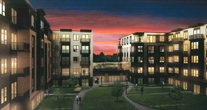 Chase Real Estate of Burnsville wants to build 585 market-rate, affordable and senior apartments at 4600 to 4660 77th St. W. in Edina. The City Council is poised to reject the project in a dispute over the city's affordable housing policy. (Submitted image: Kaas Wilson Architects)